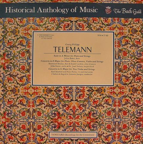 "Telemann Vinyl 12"""