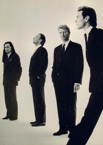 David Bowie Postcard