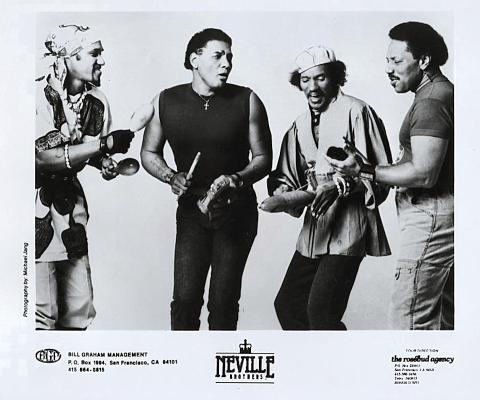 The Neville Brothers Promo Print