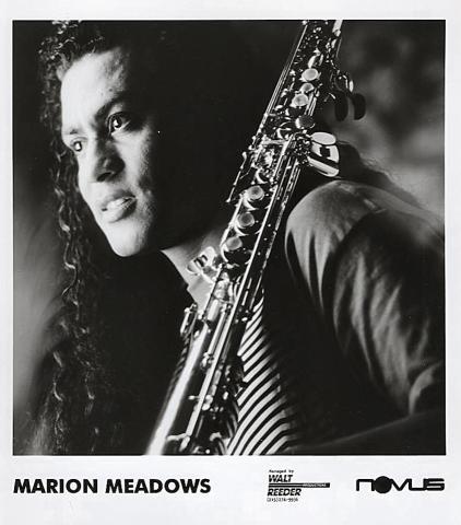 Marion Meadows Promo Print