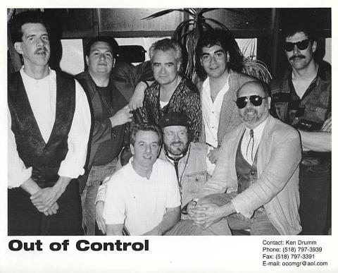 Out of Control Promo Print