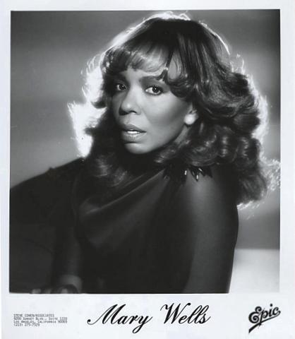 Mary Wells Promo Print