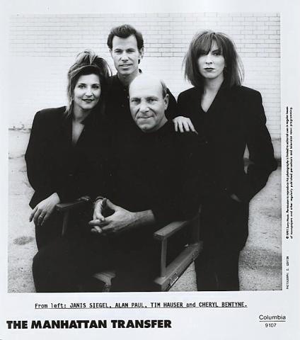 The Manhattan Transfer Promo Print