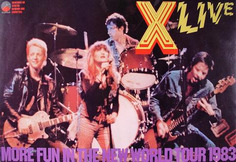 X Live Poster