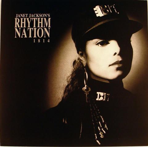 Janet Jackson Album Flat