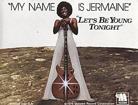 Jermaine Jackson Sticker