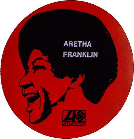 Aretha Franklin Sticker