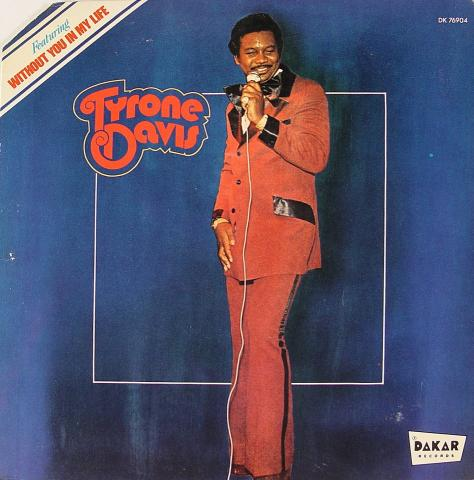 "Tyrone Davis Vinyl 12"""