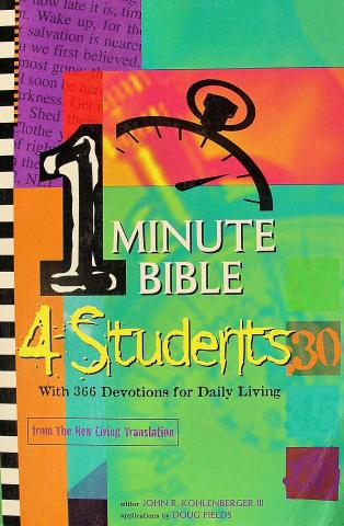 1 Minute Bible For Students