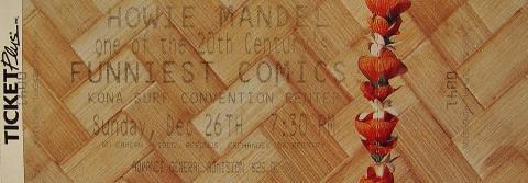 Howie Mandel Vintage Ticket
