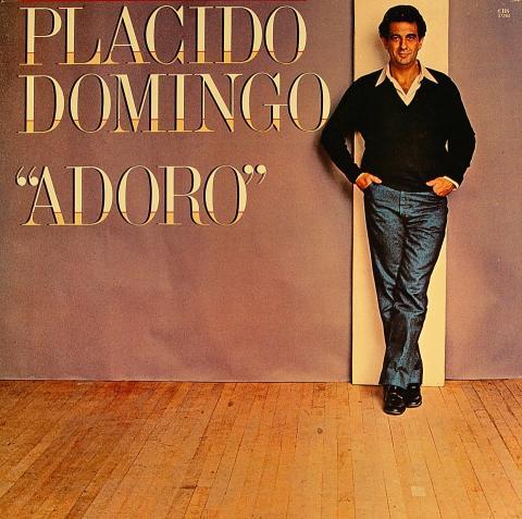 "Placido Domingo Vinyl 12"""