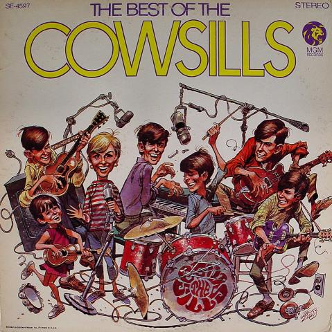 "The Cowsills Vinyl 12"""