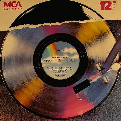 """Brenda K. Starr Vinyl 12"""""""