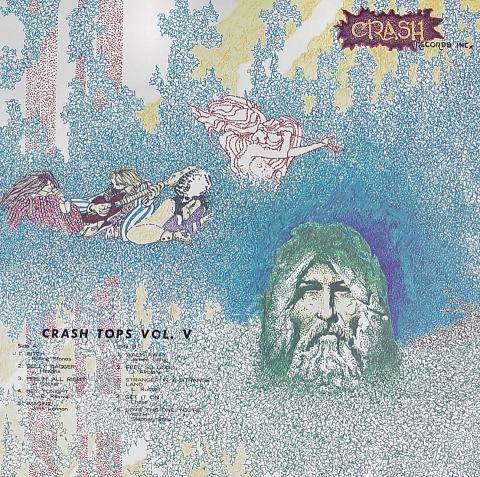 """Crash Tops Vol. V Vinyl 12"""""""