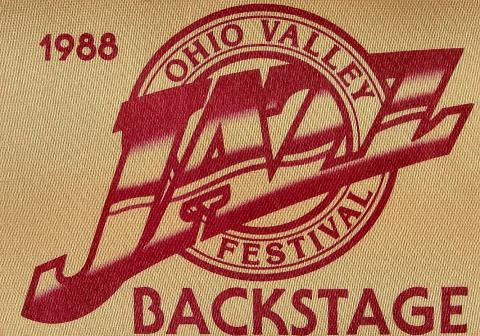 Ohio Valley Jazz Festival Backstage Pass