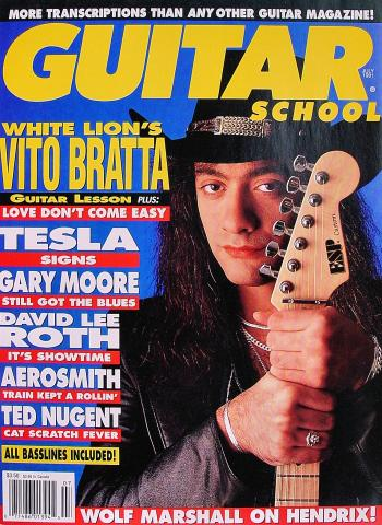 Guitar School Magazine July 1991