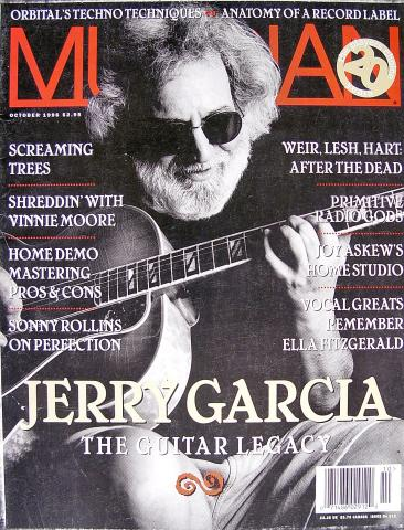 Musician Magazine October 1996
