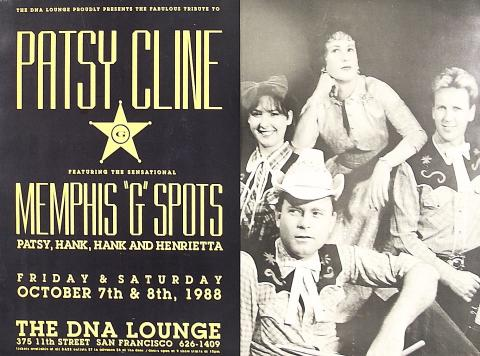 Patsy Cline and Memphis G Spots Poster