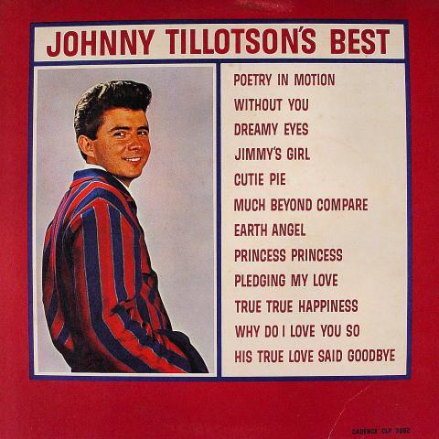 """Johnny Tillotson Vinyl 12"""""""