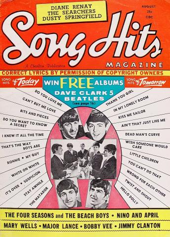 Song Hits Magazine August 1964