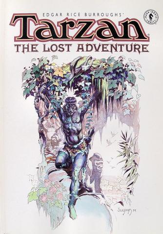Dark Horse Comics: Tarzan: The Lost Adventure