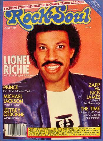 Rock & Soul Magazine June 1984