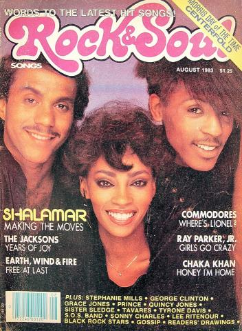 Rock & Soul Magazine August 1983