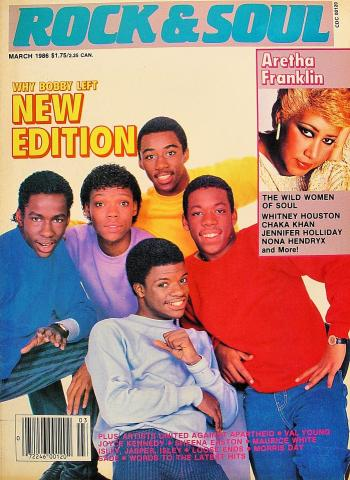 Rock & Soul Magazine March 1986