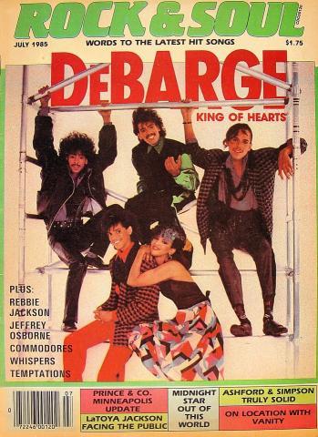 Rock & Soul Magazine July 1985