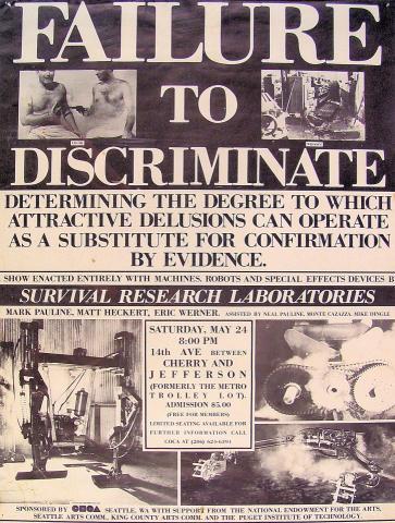 Failure To Discriminate Poster