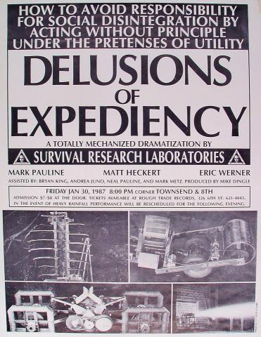 Delusions Of Expediency Poster