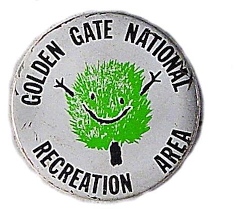 Golden Gate National Recreation Area Pin