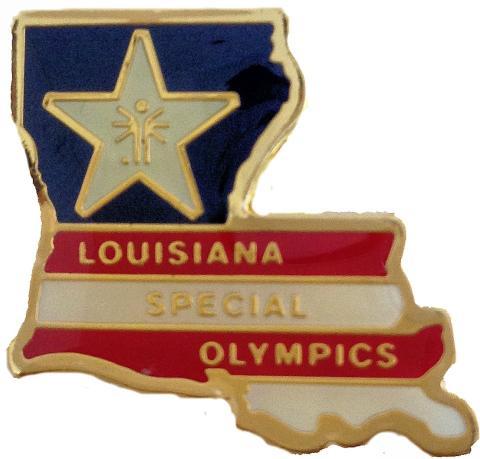Louisiana Special Olympics Pin