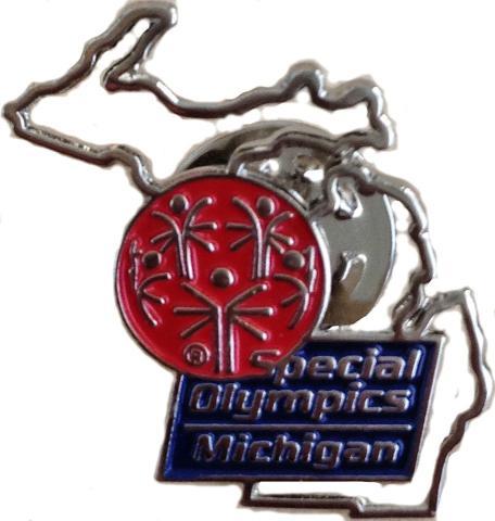 Special Olympics Michigan Pin
