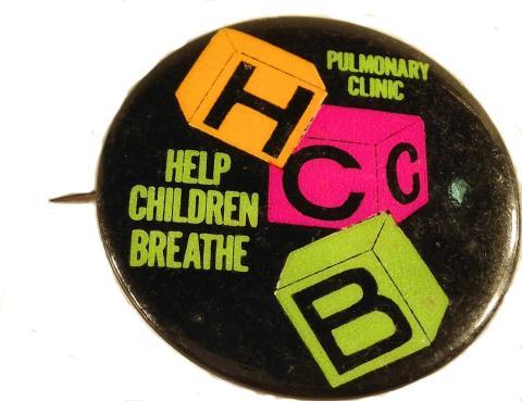 Help Children Breathe Pin