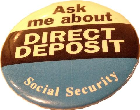 Ask Me About Direct Deposit Pin