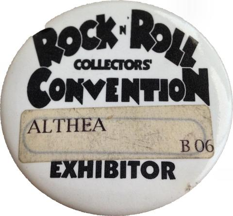 Rock N' Roll Collectors' Convention Pin
