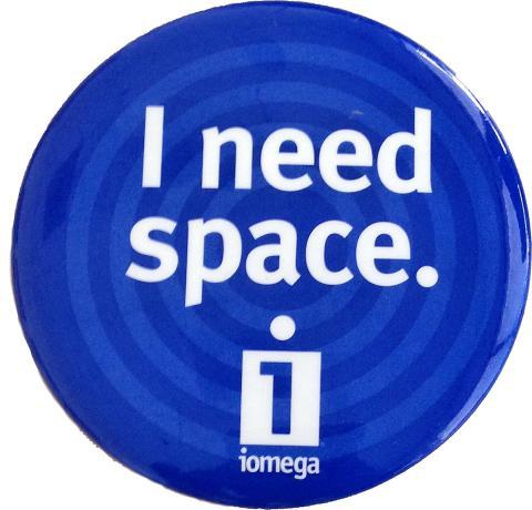I Need Space Pin