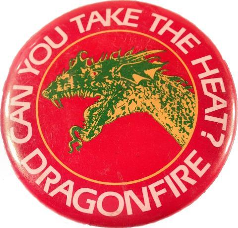 Dragonfire Pin