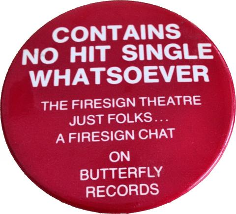 Contains No Hit Single Whatsoever Pin