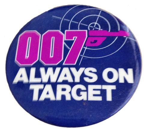 007 Always On Target Pin