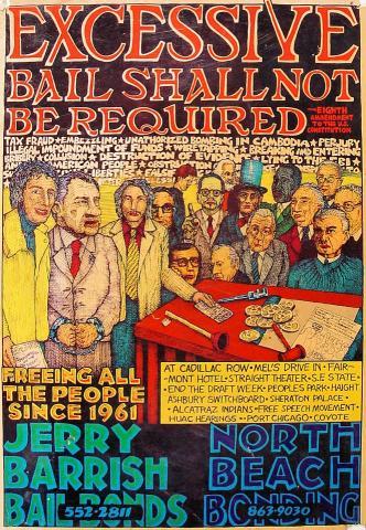 Jerry Barrish Bail Bonds Poster