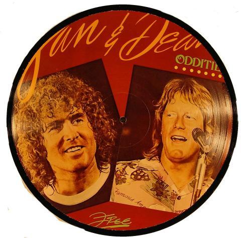 "Jan and Dean Vinyl 12"""