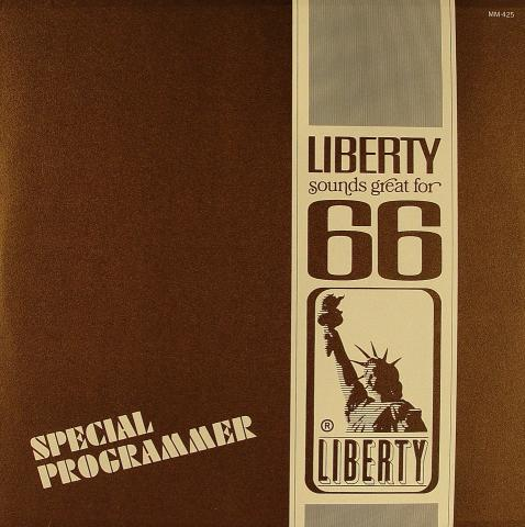 """Liberty Sounds Great For 66 Vinyl 12"""""""