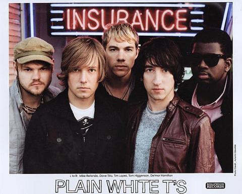 The Plain White T's Promo Print