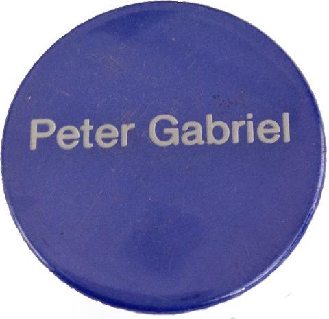 Peter Gabriel Pin