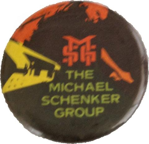 Michael Schenker Group Pin