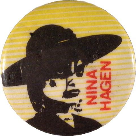 Nina Hagen Pin