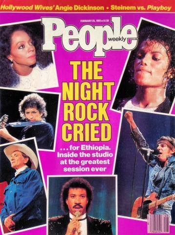 People Magazine February 25, 1985
