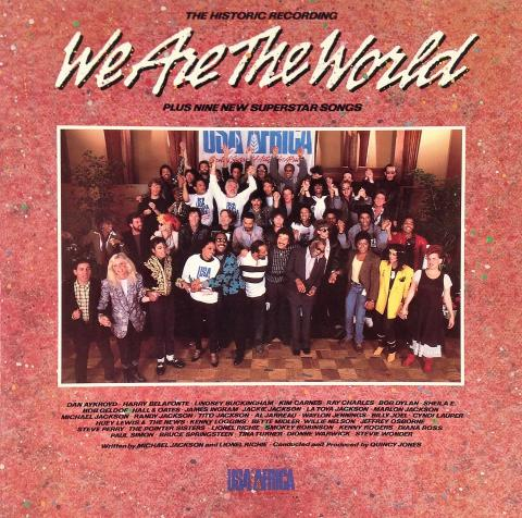"""We Are The World Vinyl 12"""""""